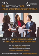 Legal Secretary Leaflet