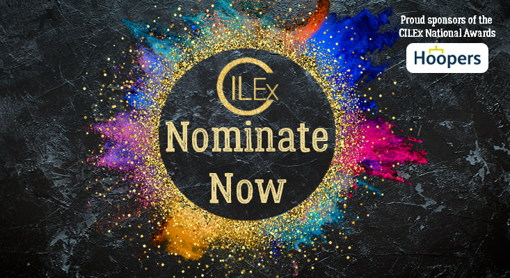 National CILEx Awards Nominate Now