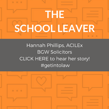 The School leaver case study