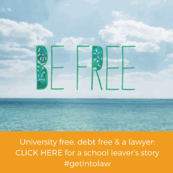 Be free of university debt