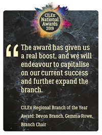 CILEx National Awards