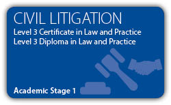 Civil Litigation - CILEx Certificate - Diploma - Level 3