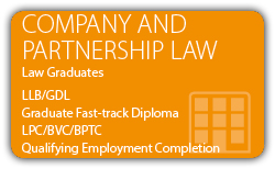 Company Law and Partnership Law - Law Graduates - CILEx Fast-track Qualification