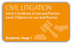 Civil-Litigation-Contract -CILEx Certificate - Diploma - Level 3