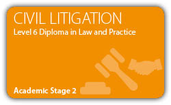 Civil Litigation-Contract -CILEx Certificate - Professional Higher Diploma - Level 6