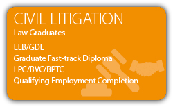 Civil Litigation - Law Graduates - CILEx Graduate Fast-track Qualification