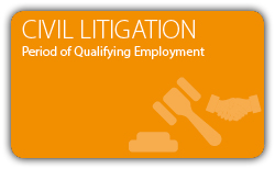 Cilvil Litigation - Contract - Period of Qualifying Employment