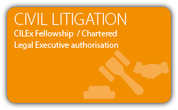 Civil Litigation - Contract - Fellowship - Chartered Legal Executive
