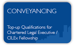 Conveyancing- Qualification Top-up - Career Progression