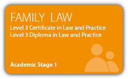 Family Law - CILEx Certificate - Diploma - Level 3