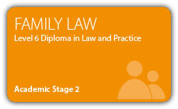 Family Law - CILEx Professional Higher  Diploma - Level 6