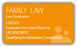 Family Law - Law Graduates - CILEx Fast-track Qualification