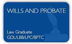 Wills and Probate Qualification - Level 6 - Law-Graduates