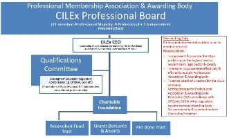 CILEx Professional Association Board Structure