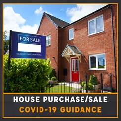 House purchase/sale Covid-19 guidance