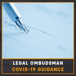 Legal Ombudsman Covid-10 Guidance