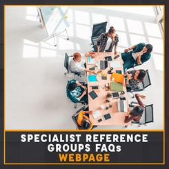 CILEx Specialist Reference Groups FAQs