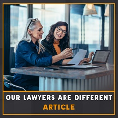 CILEx Our Lawyers are different article