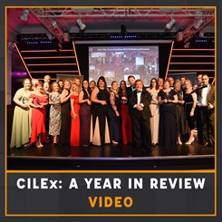 CILEx a year in review video