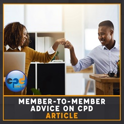 CILEx member-to-member CPD advice