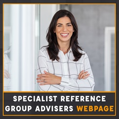 CILEx Specialist Reference Groups Advisers webpage