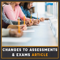 Changes to CILEx assessments and exams article