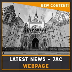 Latest news from the JAC