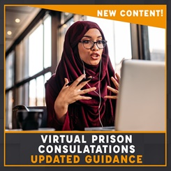 Virtual prison consultations updated guidance