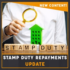 Stamp Duty repayments update